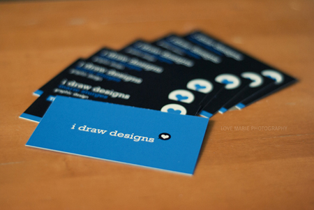 Business Cards blue 11