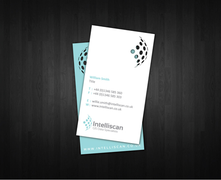 Business Cards blue 14