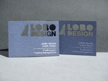 Business Cards blue 18