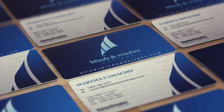 Business Cards blue 20