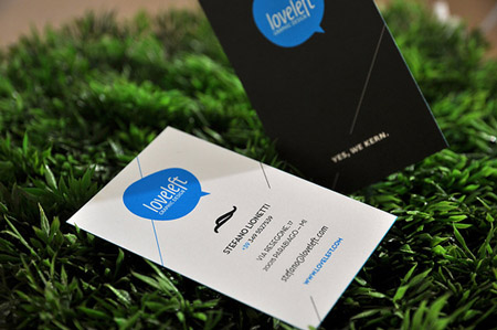 Business Cards blue 31