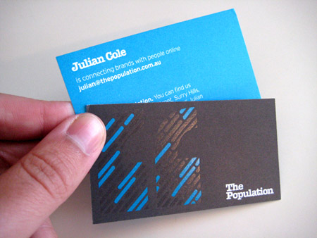 Business Cards blue 32