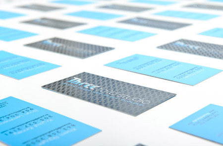 Business Cards blue 33