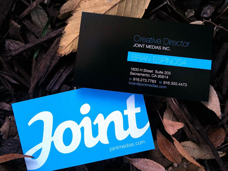 Business Cards blue 34