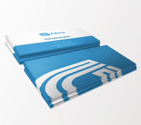 Business Cards blue 4