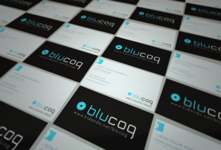 Business Cards blue5