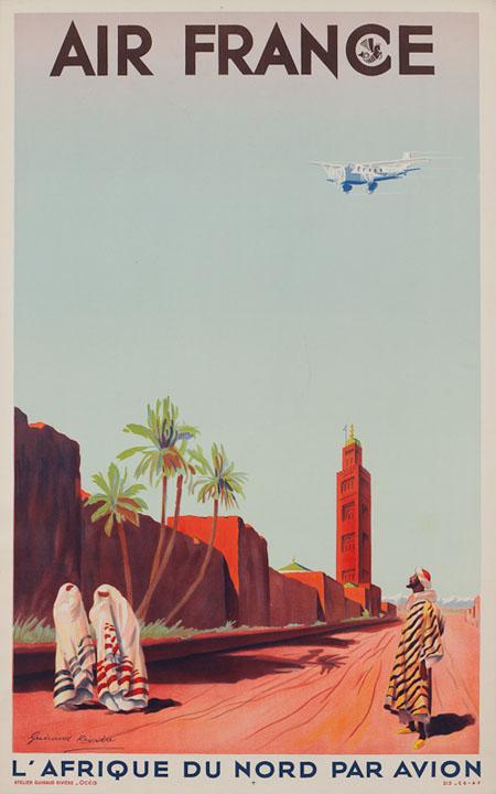 Vintage Airline Posters afr 1
