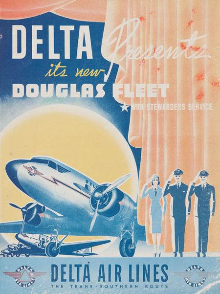 Vintage Airline Posters delta4