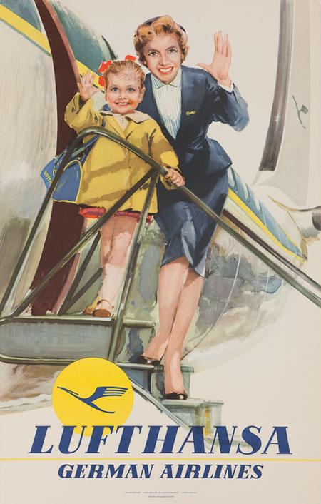 VintageAirlinePosters lufth 3