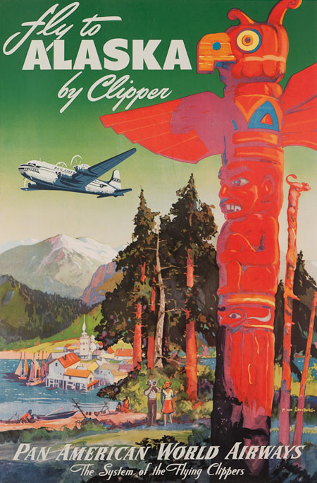 Vintage Airline Posters panam1
