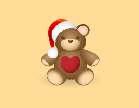 Christmas Goodies Teddy Bear