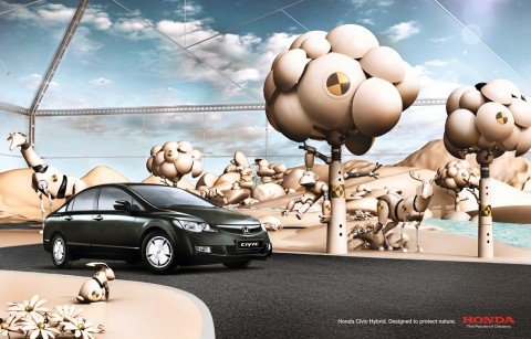 Creative Automobile Advertisements 42
