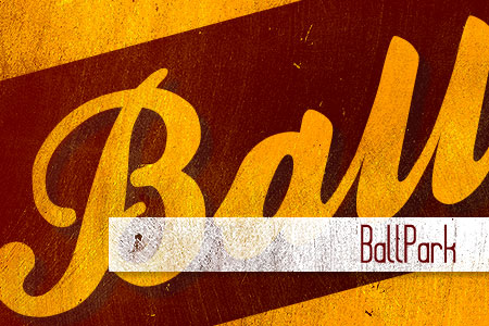 Handpicked Vintage Fonts Ballpark