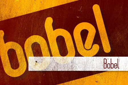 Handpicked Vintage Fonts Bobel