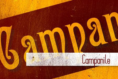 Handpicked Vintage Fonts Campanile