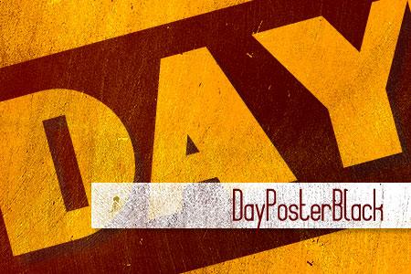 Handpicked Vintage Fonts DayPoster