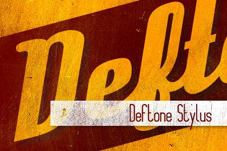 Handpicked Vintage Fonts Deftone