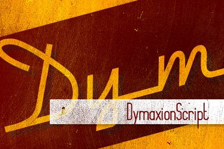 Handpicked Vintage Fonts Dymaxion