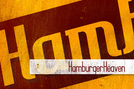 Handpicked Vintage Fonts Hamburger