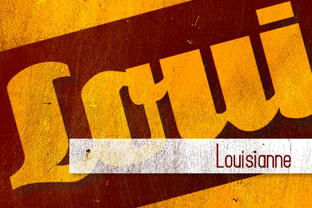Handpicked Vintage Fonts Louisianne