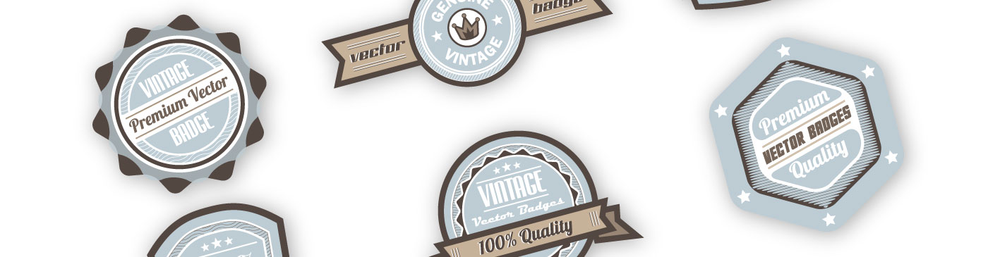 Featured Image Vintage Badges