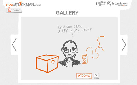 Animated Interactive Sites Stickman