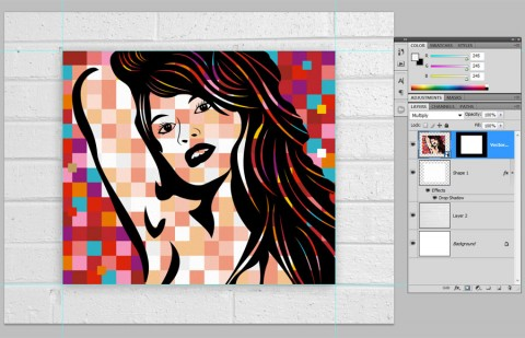 Pop Art Poster Step 34