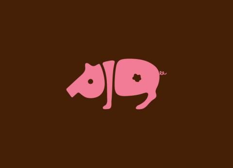 Word Animals - Pig
