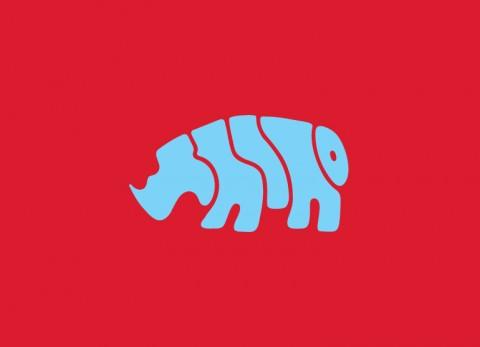 Word Animals - Rhino