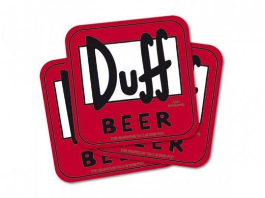Duff Beer Mat
