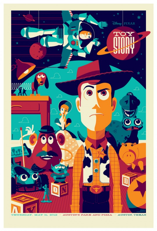 Toy Story Poster by Tom Whalen