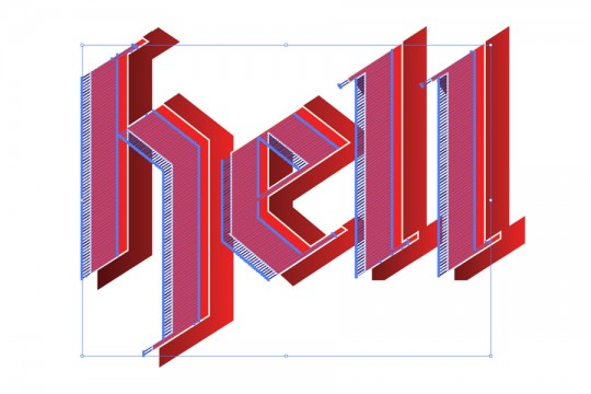 Typography Poster Step 8