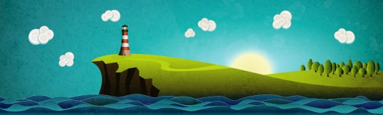 Coastal Illustration Final Preview