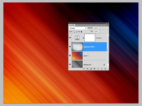 Photoshop Quick Tip - Abstract Background Step 8