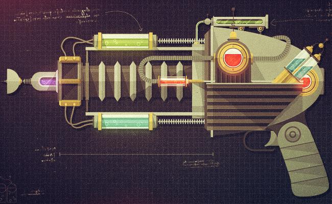 Raygun 52 - Plasma Cannon