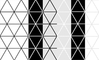 Subtle Photoshop Patterns - Triangle Patterns
