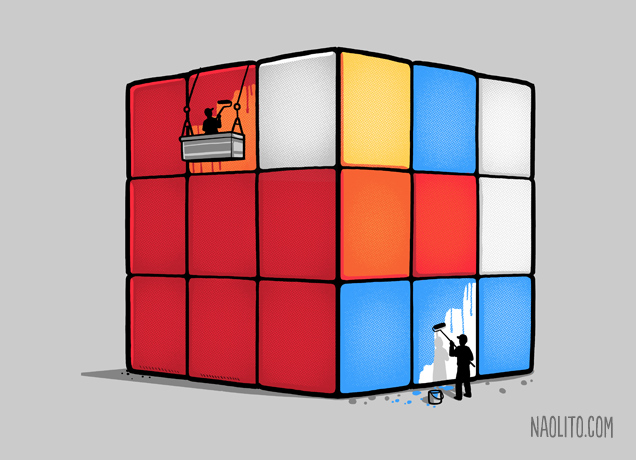 Naolito - Solving the Cube
