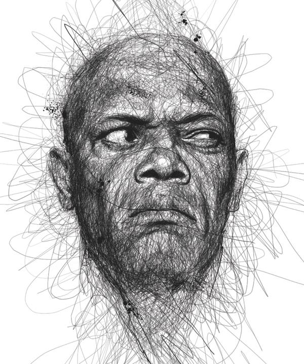 Vince Low - Faces - Samuel Jackson