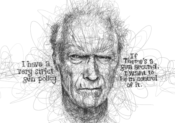 Vince Low - Movie Legend - Clint Eastwood