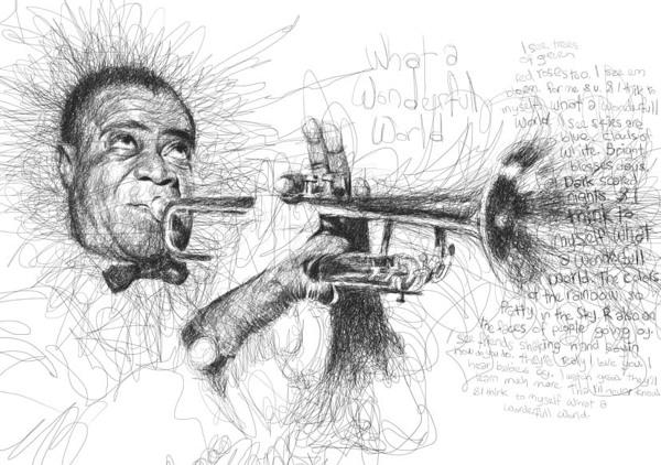 Vince Low - Music Legend - Louis Armstrong