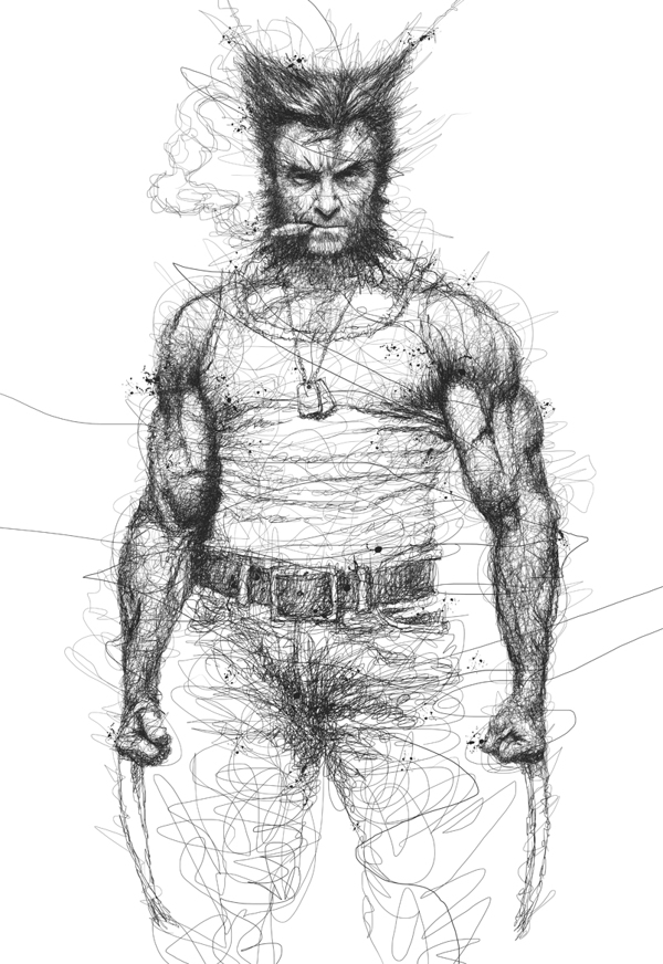 Vince Low - Super Hero - Wolverine