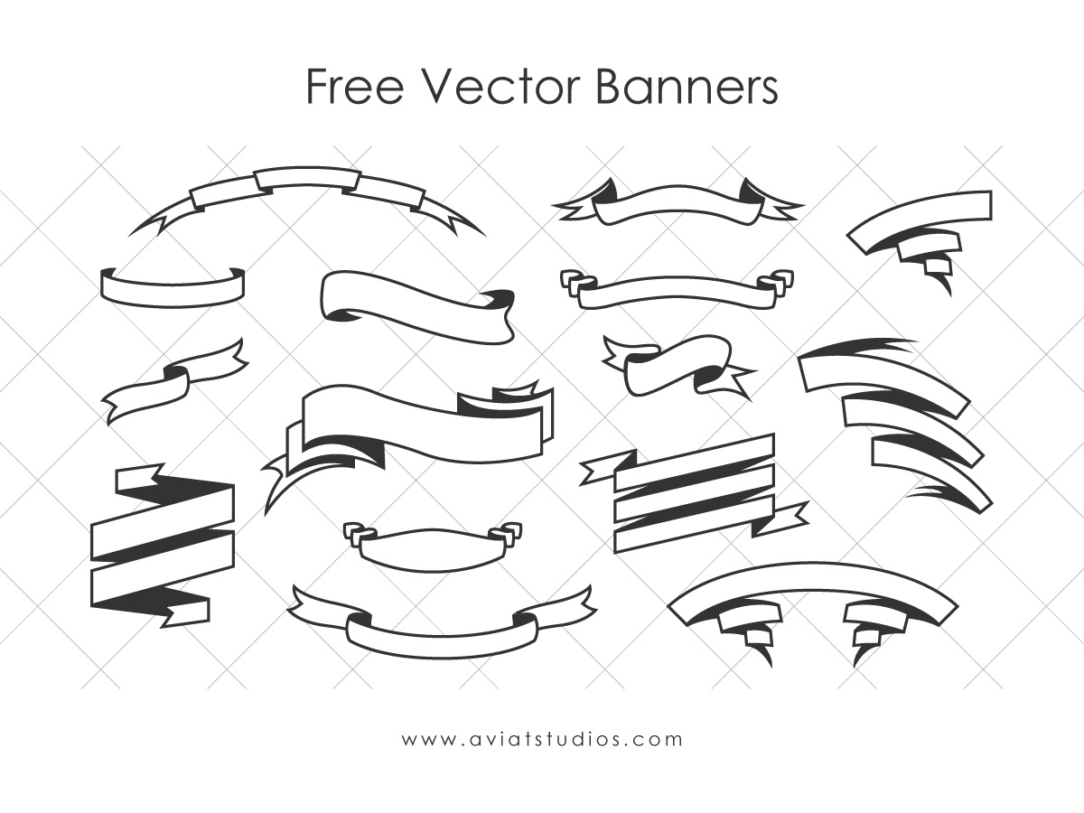 Free Vector Banners Preview