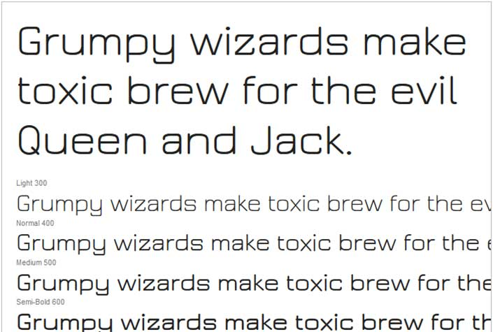 Best Free Google Web Fonts - Jura