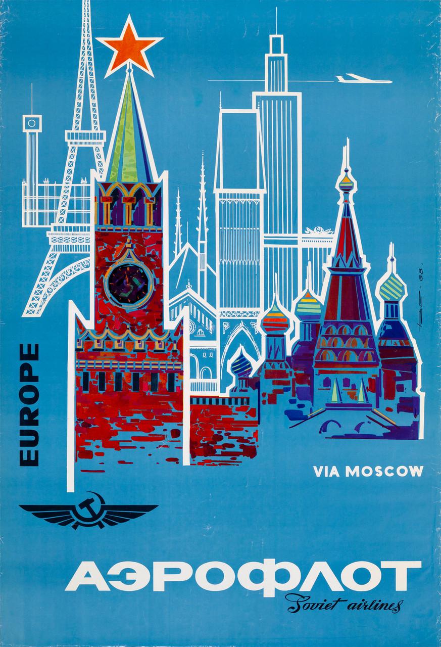 Eastern Airline Companies - Aeroflot