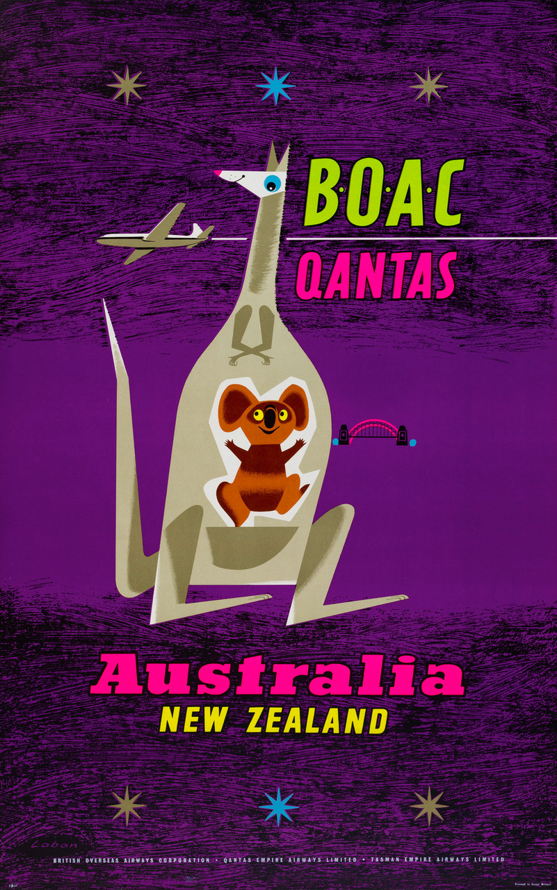Eastern Airline Companies - Qantas