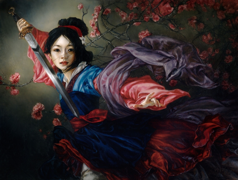Heather Theurer Disney Characters - Mulan