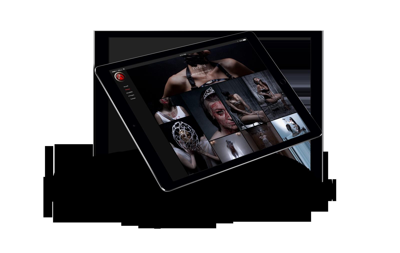iPad Air 2 Mockup - Acqualeni Photography