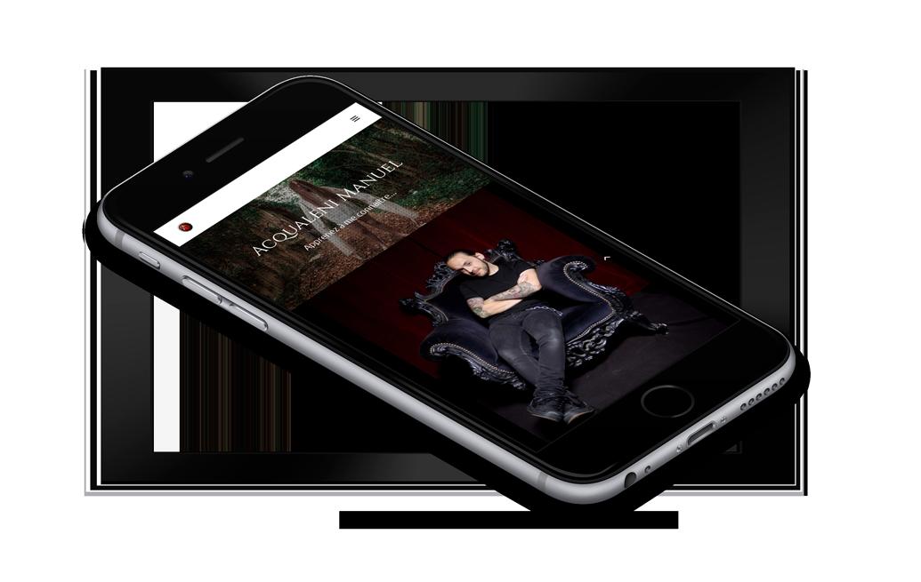iPhone 6 Mockup - Acqualeni Photography