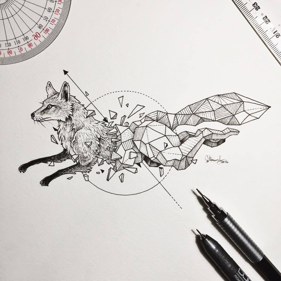 Kerby Rosanes Geometric Beasts