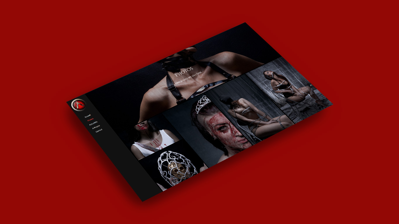 Main Page Mockup - Acqualeni Photography